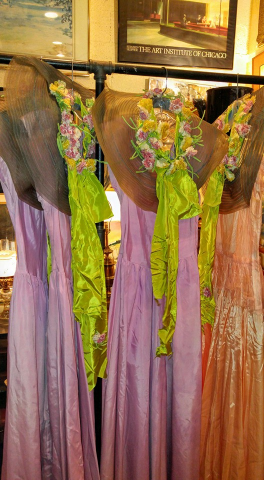 Stuff for sale vintage 1930s bridesmaid dresses with hats for Vintage wedding dresses fort worth