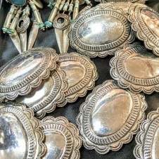 sTERLING cONCHOS,  southwest Jewelry Fort Worth