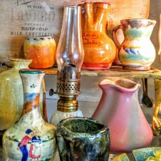 vintage antique pottery, pottery fort worth