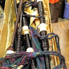 1960s Bagpipes, vintage musical instruments