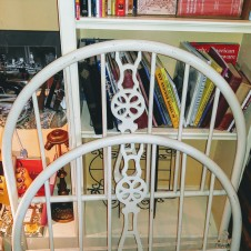 Antique Twin Size Metal Bed, antiques fort worth