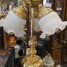 Gorgeous Victorian Style Lamp, Antiques Fort Worth Tx